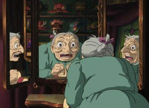 Shot from Howl's Moving Castle