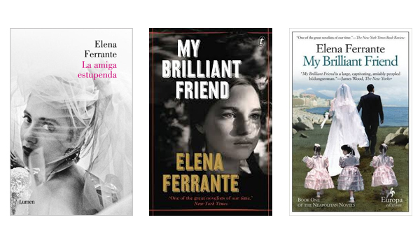 Brilliant Friend 3 books