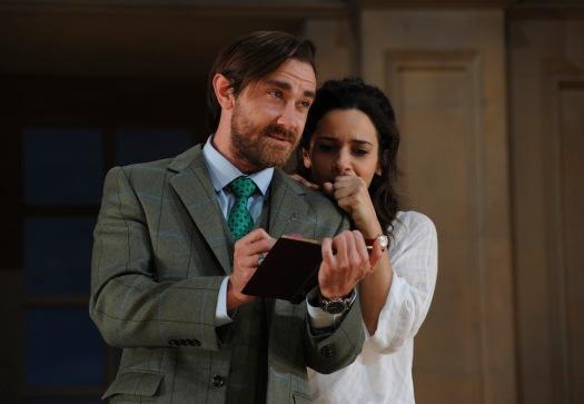Hannah and Bernard in Arcadia Stoppard