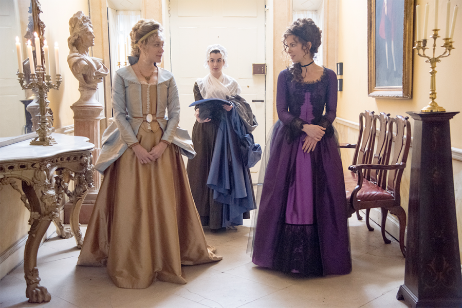 Love and Friendship directed by Whit Stillman Podcast review by Erratic Dialogues